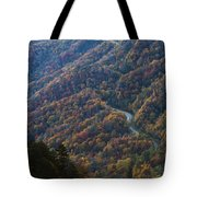 Autumn In The Smoky Mountains Tote Bag by Dennis Hedberg