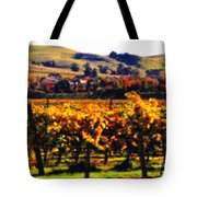 Autumn In The Valley 2 - Digital Painting Tote Bag