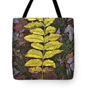 Autumn Leaf Art I Tote Bag