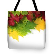 Autumn Leaves In Colour Tote Bag