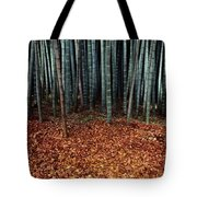 Autumn Leaves Litter The Ground Tote Bag