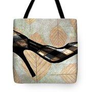 Autumn Leaves Stilettos Tote Bag