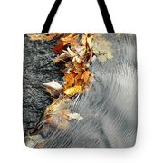 Autumn Leaves Tiny Dam Tote Bag