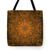 Autumn Mandala 2 Tote Bag