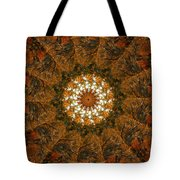 Autumn Mandala 4 Tote Bag