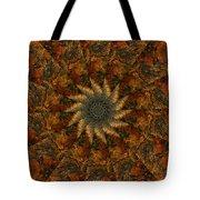 Autumn Mandala 7 Tote Bag