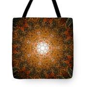 Autumn Mandala 8 Tote Bag