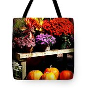 Autumn Market Tote Bag