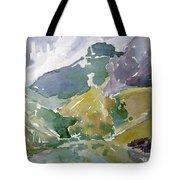 Autumn Mountains Tote Bag