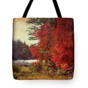 Autumn Of Yesteryear Tote Bag