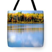 Autumn On Chena Lake L Tote Bag