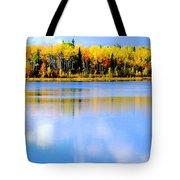Autumn On Chena Lake Ll Tote Bag