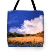 Autumn On Isle Of Palms Tote Bag