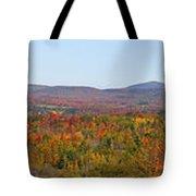 Autumn Panorama Brome Quebec Canada Tote Bag