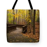 Autumn Path Tote Bag