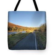 Autumn Pond 8 Tote Bag