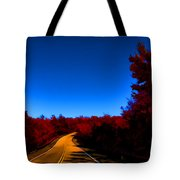Autumn Red Tote Bag by Douglas Barnard