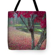 Autumn Red Tote Bag by Rob Travis
