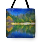Autumn Reflected 2 Tote Bag