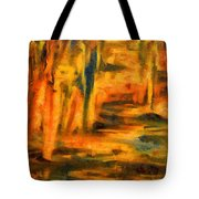 Autumn Reflection In The Water Tote Bag