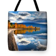 Autumn Reflections In October Tote Bag
