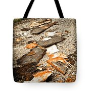 Autumn Rusted Tote Bag