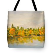 Beyond The Hills Tote Bag