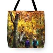 Autumn Stroll Tote Bag