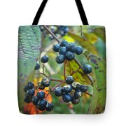 Autumn Viburnum Berries Series #2 Tote Bag