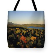 Autumn View Across Baxter State Park Tote Bag