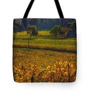 Autumn Vineyards Tote Bag