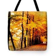 Autumn Walk In Belgium Tote Bag