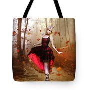 Autumn Waltz Tote Bag by Mary Hood