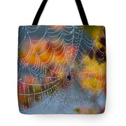 Autumn Web Tote Bag