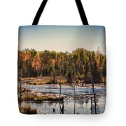 Autumn Wetland Tote Bag
