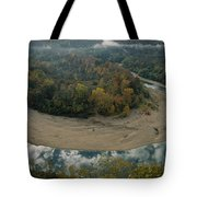 Autumnal View Of One Of The Loops Tote Bag