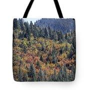 Autumns Palette Tote Bag