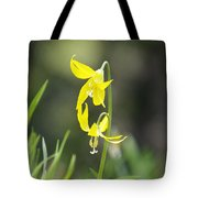 Avalanche Lily Tote Bag