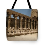 Avenue Of The Sphinx Tote Bag