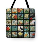 Aviary Poster Tote Bag