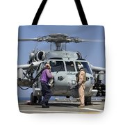 Aviation Boatswain's Mates Run Tote Bag