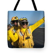 Aviation Boatswain Mates Direct An Tote Bag