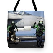 Aviation Boatswain Mates Signal A Clear Tote Bag