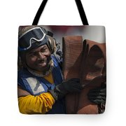 Aviation Boatswains Mate  Carrying Tote Bag