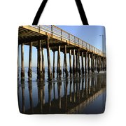Avila Beach Pier California 2 Tote Bag