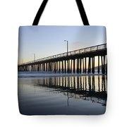 Avila Beach Pier California 3 Tote Bag