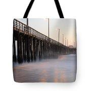 Avila Beach Pier California 5 Tote Bag