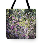 Azaleas In The Forest Tote Bag