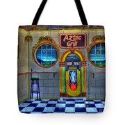Aztec Grill Route 66 Tote Bag