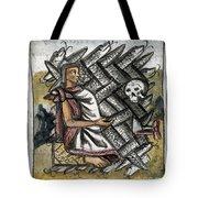 Aztec: Life And Death Tote Bag